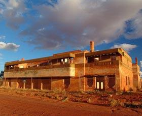 Abandoned Big Bell Hotel