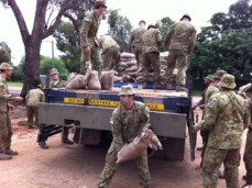 Army Sandbagging in Katty