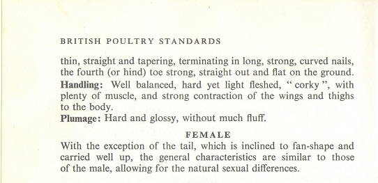 British Poultry Standard