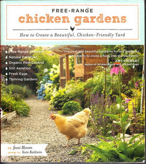 Free Range Chicken Gardens - in the library