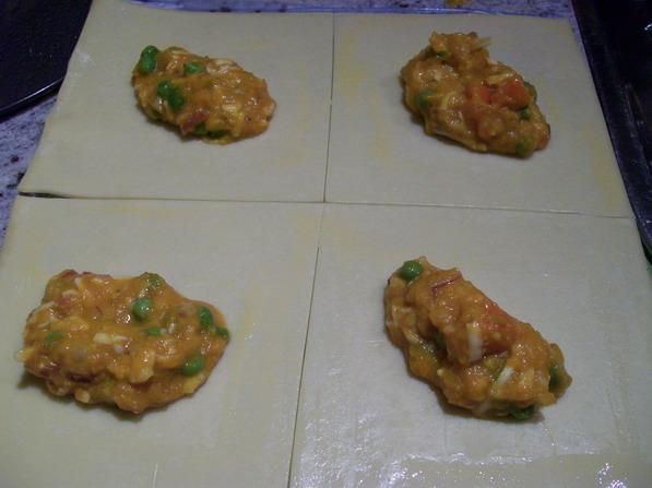 Vegetable pasties  .2