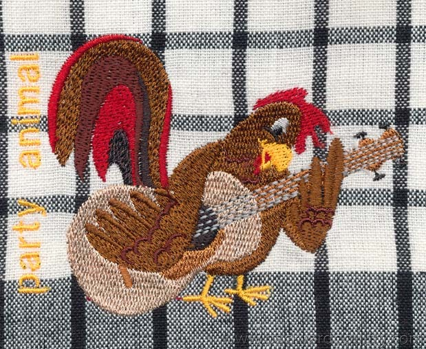 CHOOKY EMBROIDERY 8