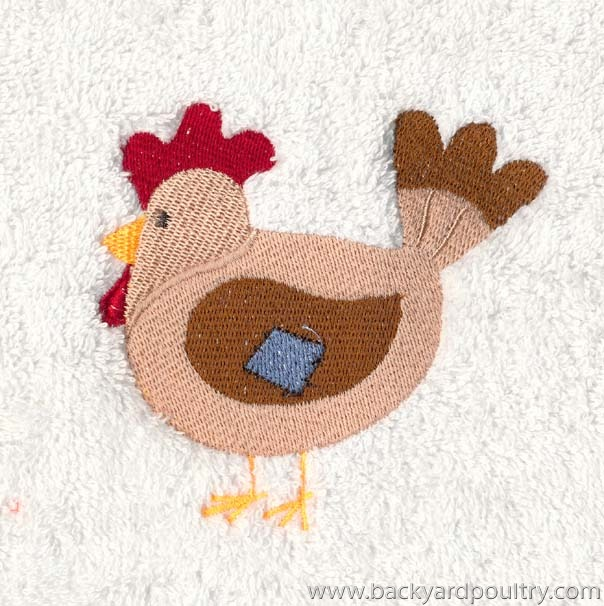 CHOOKY EMBROIDERY 12