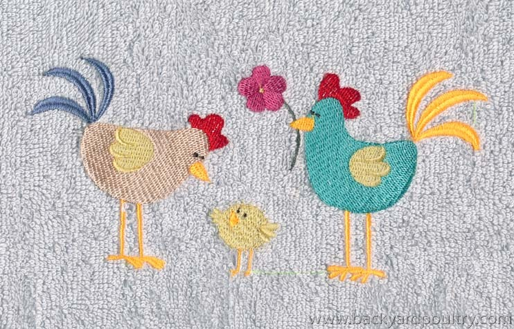 CHOOKY EMBROIDERY 15