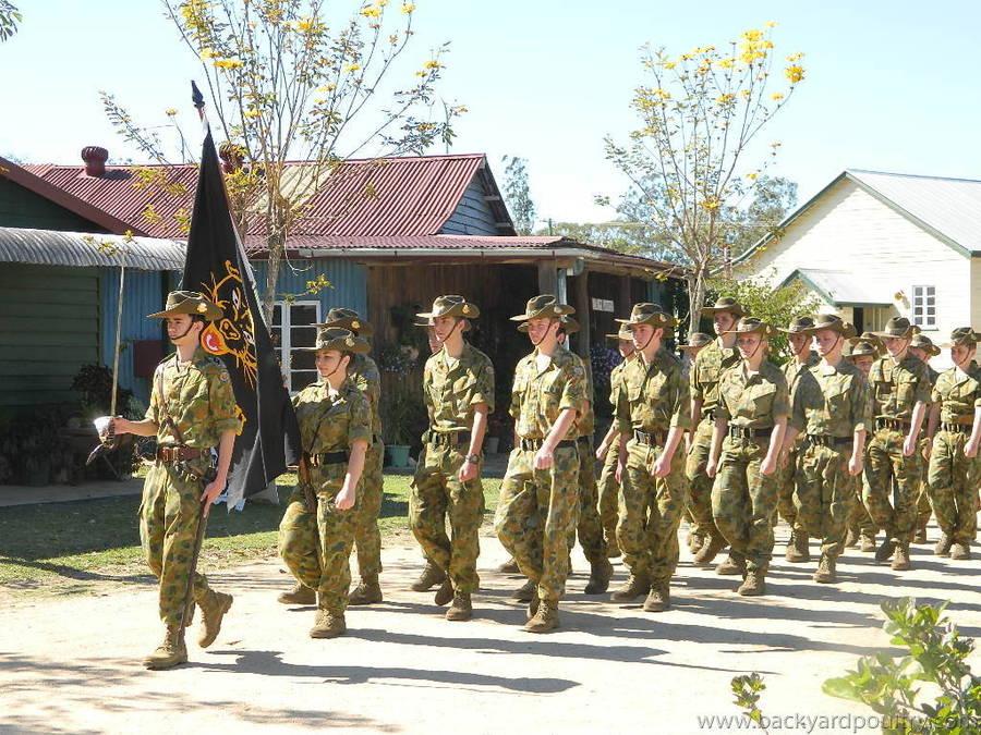 ANZAC commemoration Day 2014