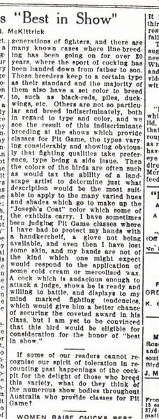 1928 poultry article
