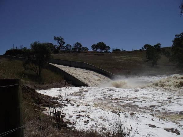 Lake Eppalock Spills & Causes Damage 2