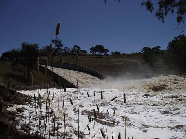 Lake Eppalock Spills & Causes Damage 3