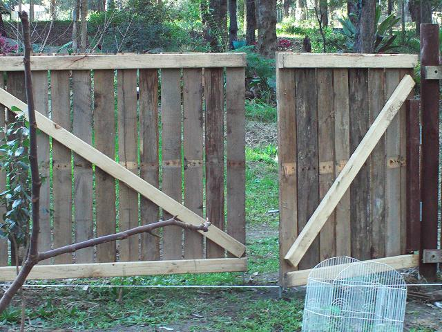 Backyard Louvered Privacy Fence by Moneca Kaiser Design Build