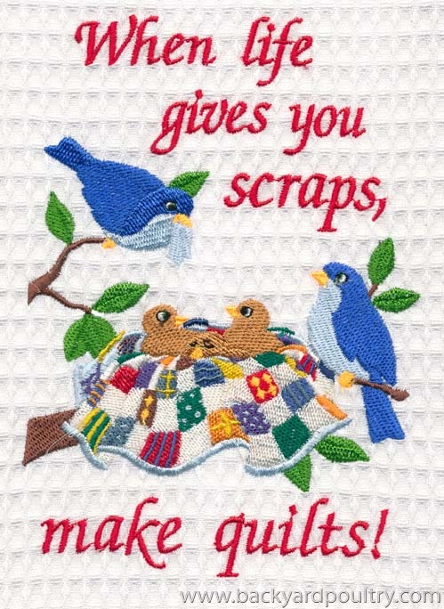 chooky embroidery quilts