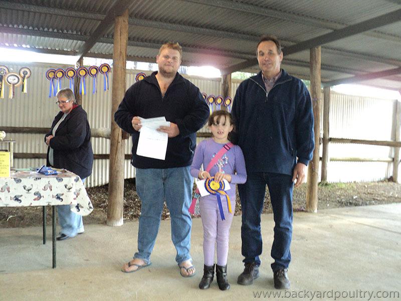 savannah and champion jnr award