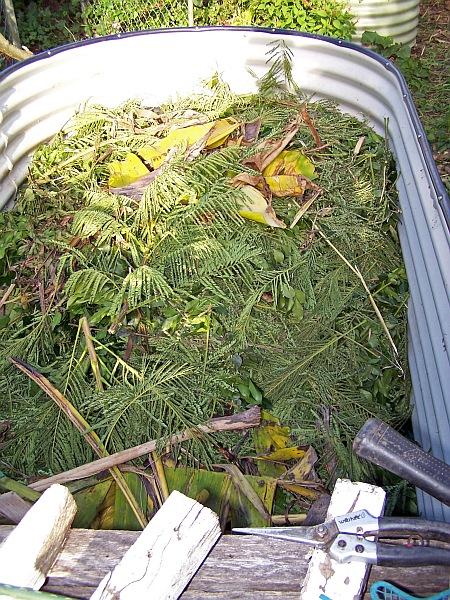 Fancy compost bin